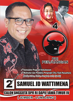 CALON ANGGOTA DPR RI DAPIL JAWA TIMUR. IV