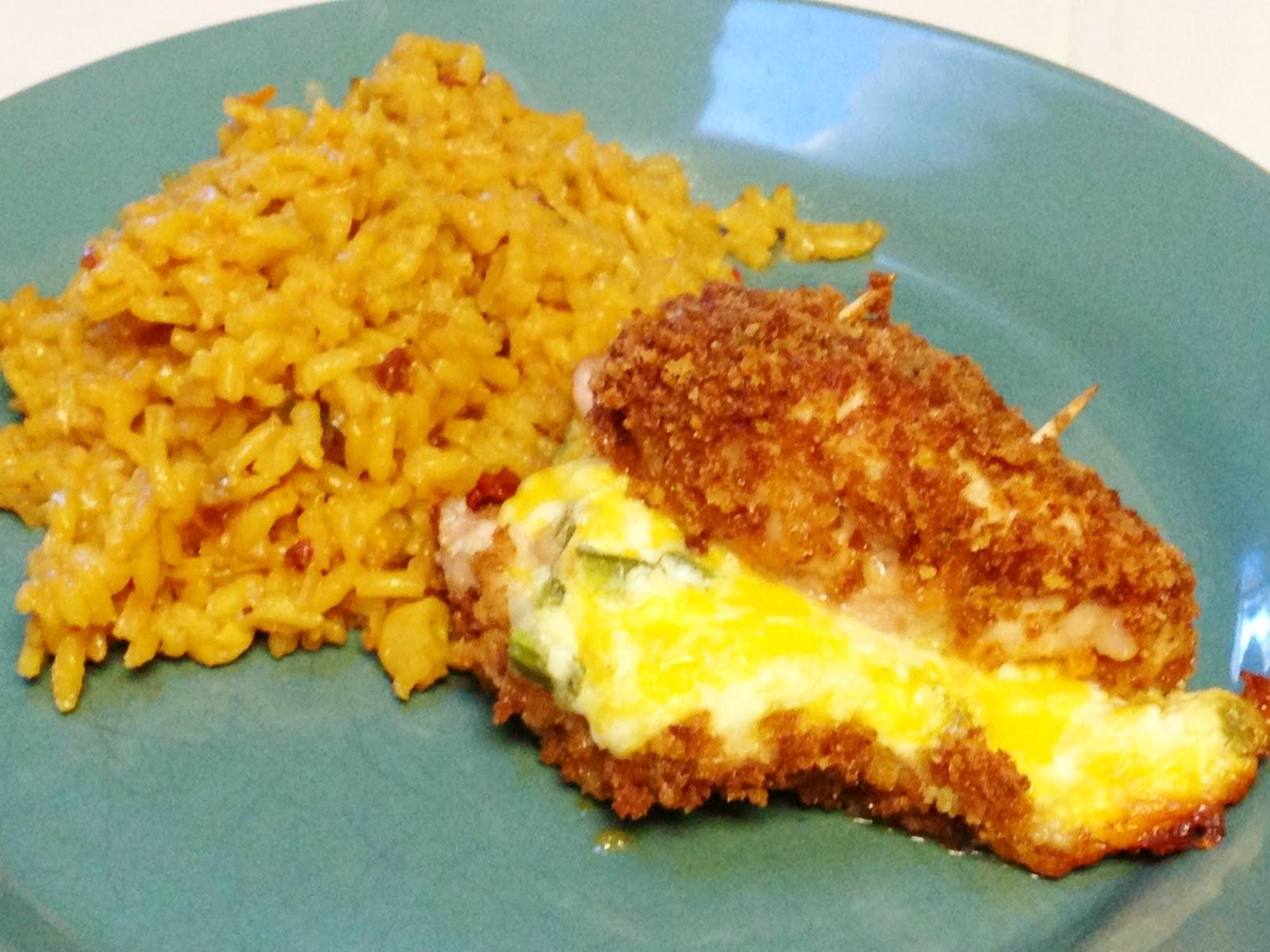 Cheesy Jalapeno Popper Baked Stuffed Chicken Recipe — Dishmaps
