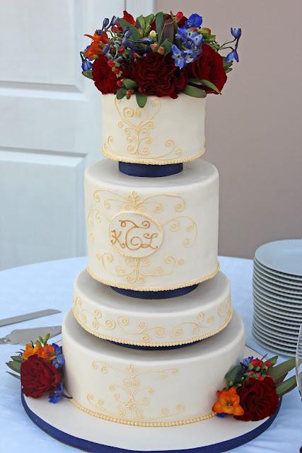Cake Designs At Jewel : Sweet Stirrings: Custom Wedding Cake Designs