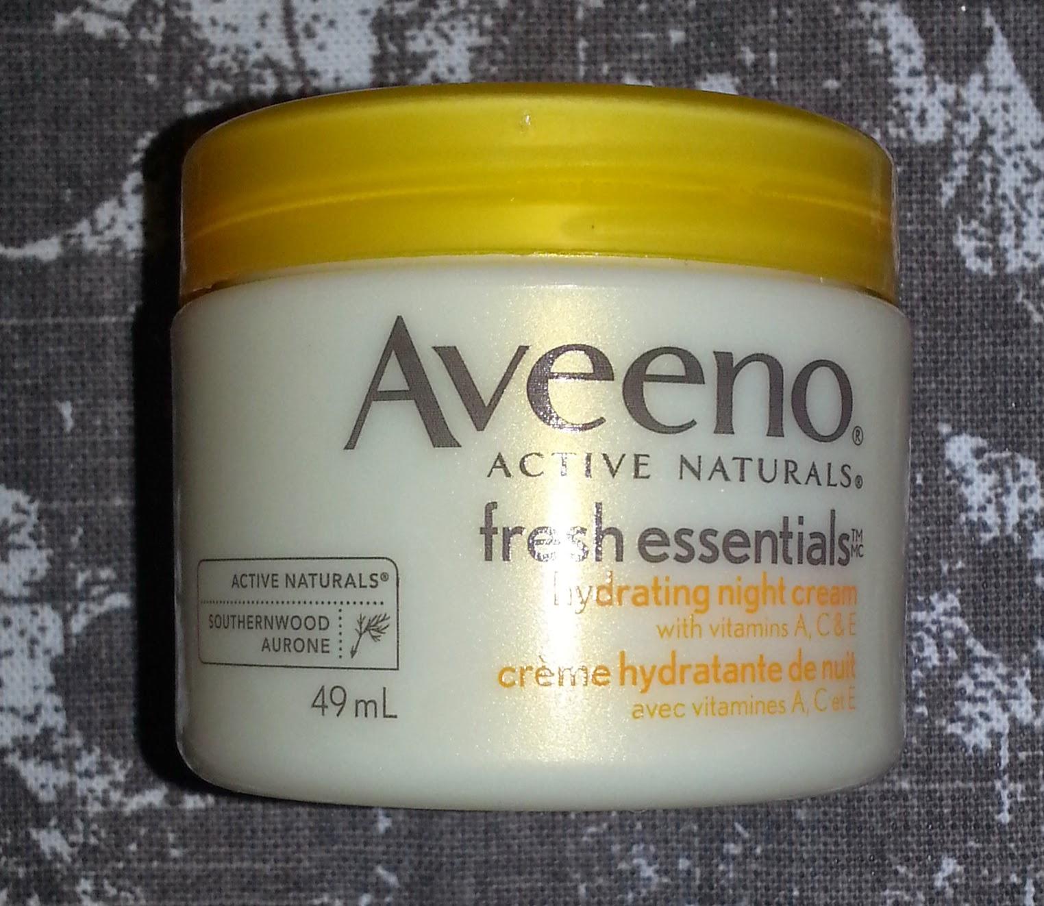 Aveeno Smart Essentials Hydrating Night Cream