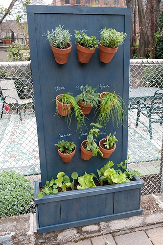 Herb gardens 30 great herb garden ideas the cottage market Herb garden wall ideas