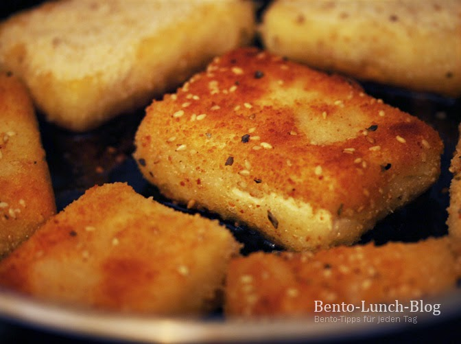 bento lunch blog rezept panierter tofu ohne ei. Black Bedroom Furniture Sets. Home Design Ideas