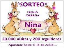¡¡¡TERCERA GANADORA EN EL BLOG DE NINA!!!