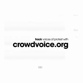CrowdVoice social network
