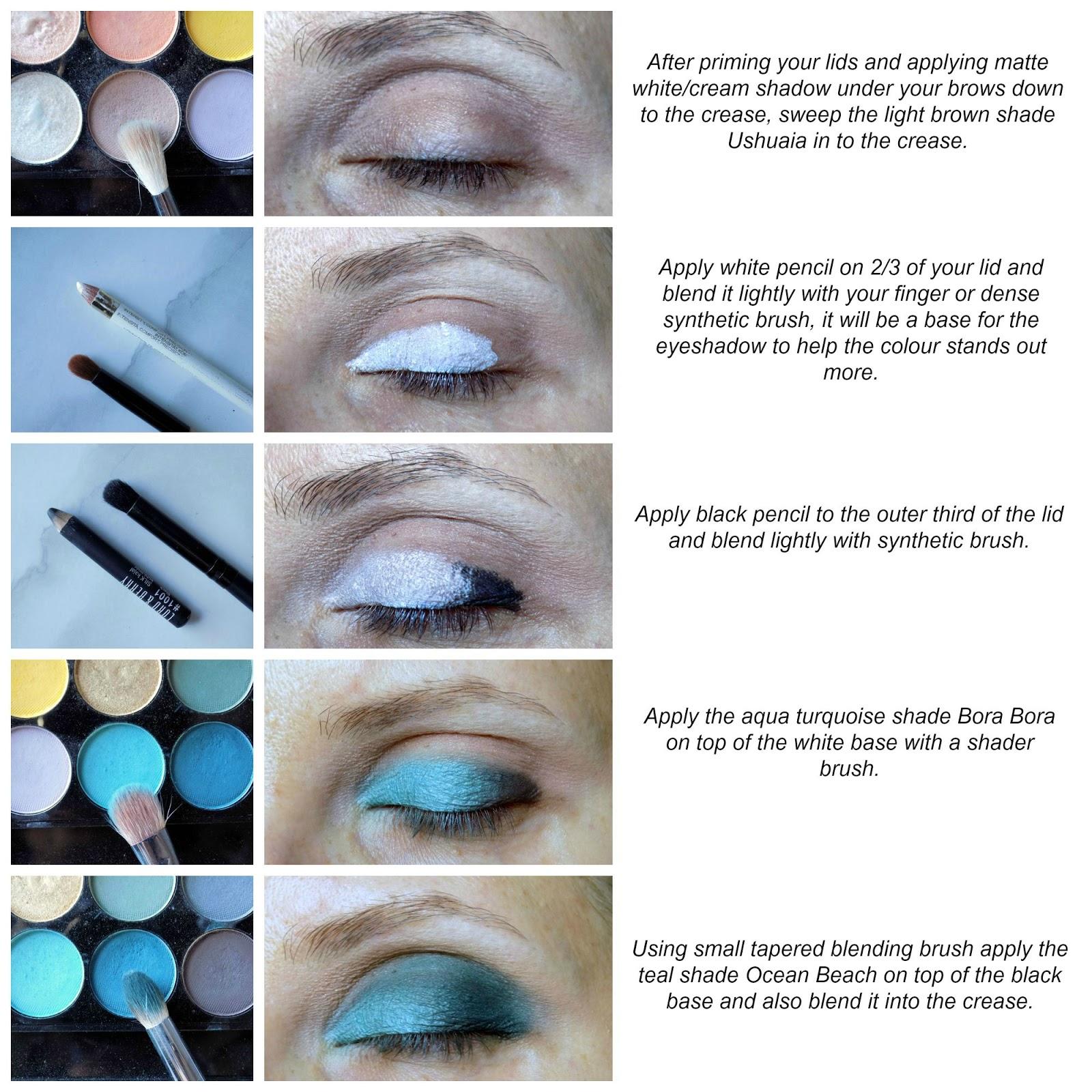 Sleek Del Mar Vol.2 makeup tutorial