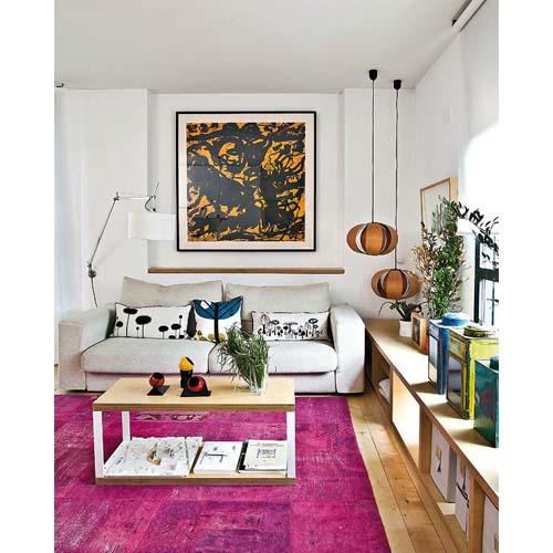 soggiorno il divano di adatta perfettamente alla nicchia del soggiorno ...
