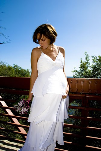destination maternity wedding dress