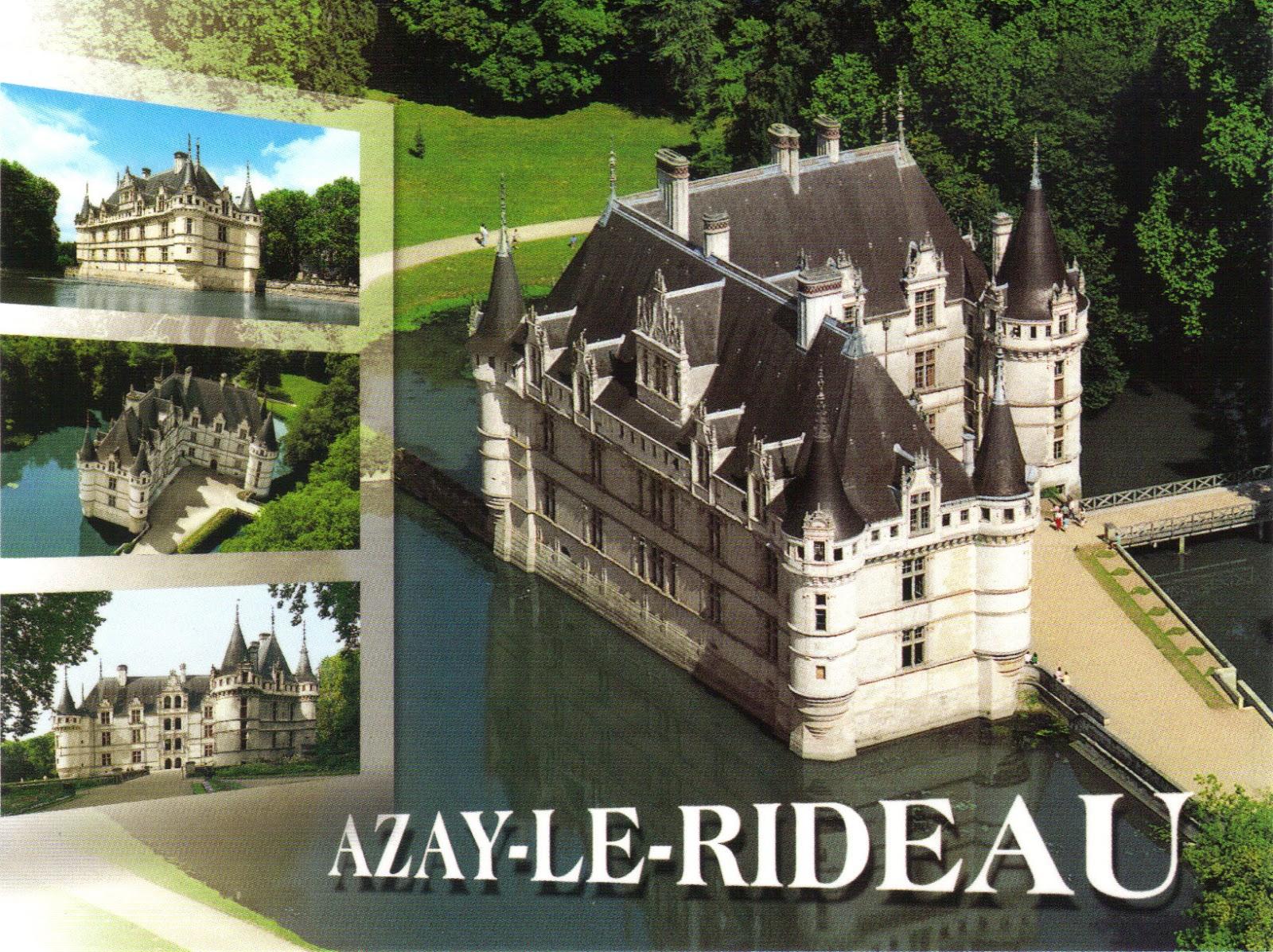 La Cité des Vents: Visite à Azay-le-Rideau