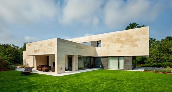 Casa moderna contemporanea for Casa moderna espana