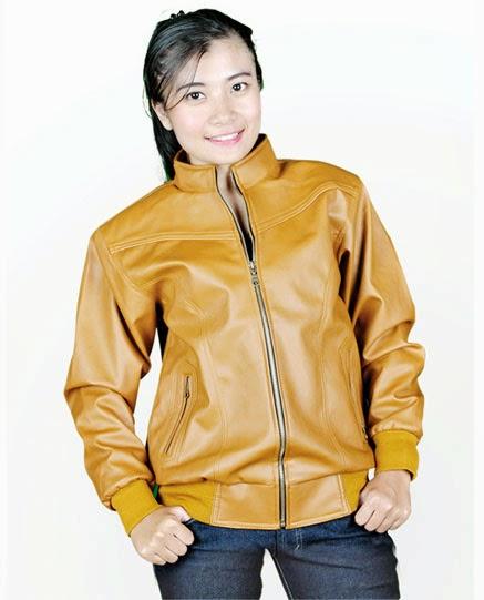 jaket kulit sintetis