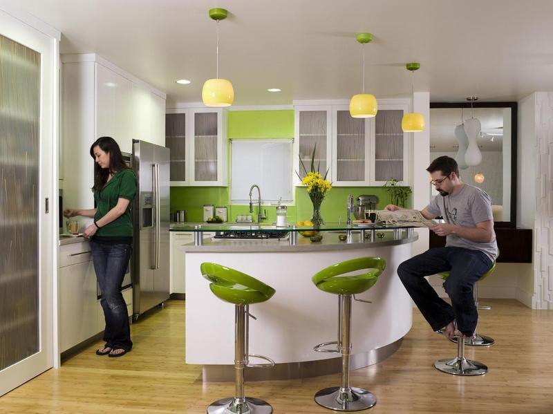 Decorando tu Cocina con el Color Verde : Decorando Mejor