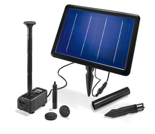 Jard n solar bombas de agua solares con y sin bater a for Panel solar pequeno