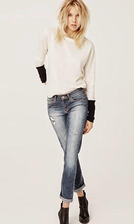 Suiteblanco otoño invierno 2014 jeans desgastados