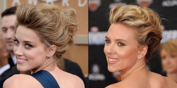 Amber heard looks like Scarlett Johansson