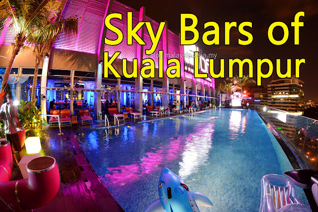 Sky Bars in Kuala Lumpur, Malaysia