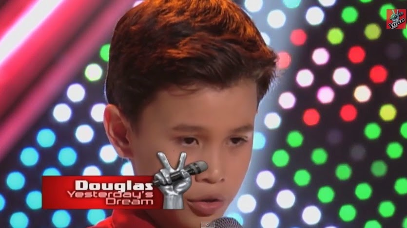 "Douglas Alabe sings ""Yesterday's Dream"" on 'The Voice Kids' Philippines"