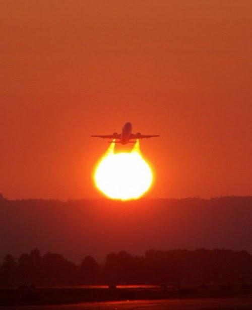 500 x 615 jpeg 17kB, Funny Image: Sky fun Aircraft And The Sun