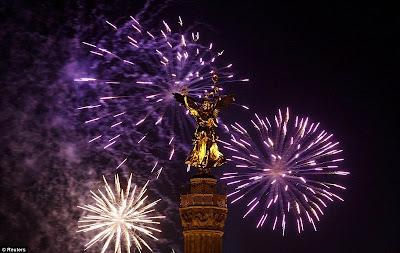 Perayaan Tahun Baru 2012 di Jerman