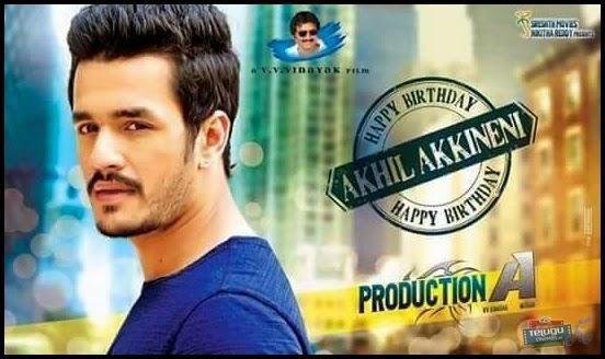 Akhil Akkineni Movie Making Video