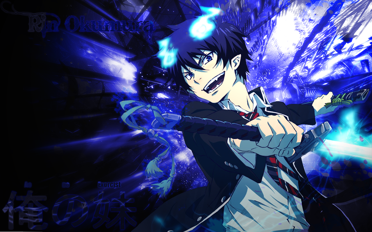 epic blue exorcist wallpaper - photo #2