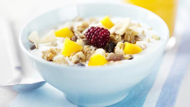 yogurt e cerali