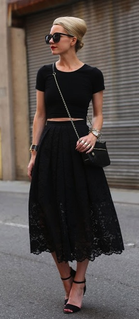 Weddig Hair How To Wear Lace Skirts