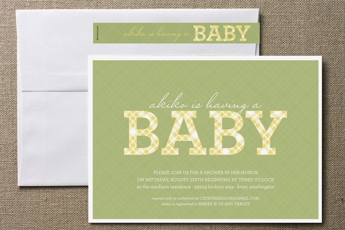 inspiration for the diy bride baby shower invitation for minted prep
