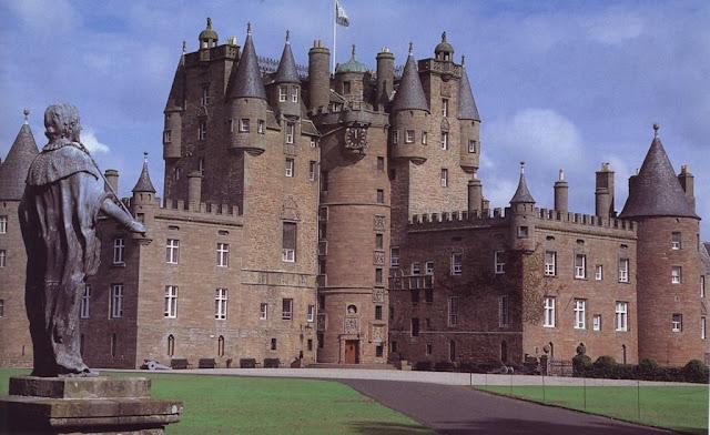 Castillo de Glamis, en Escocia