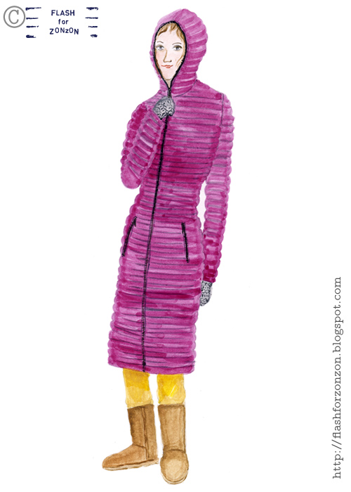 Flash For Zonzon, Illustrated StreetStyle from Helsinki.