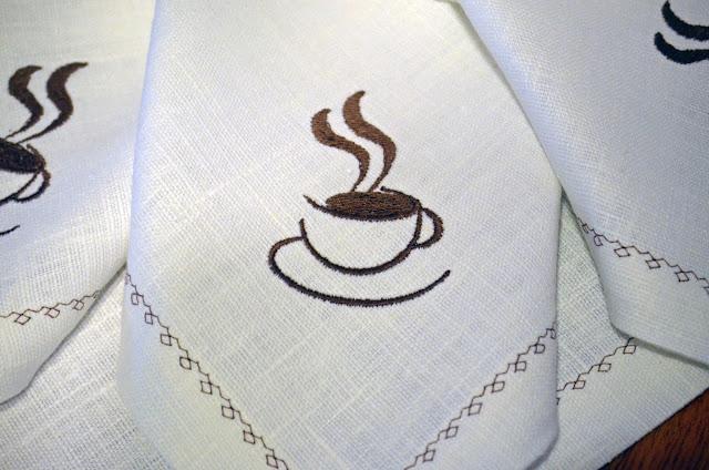 """Дорожка и салфетки """"кофе"""""""