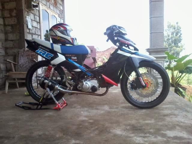 Gambar Modifikasi Motor Yamaha vega ZR Terbaru title=