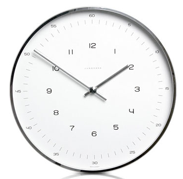 simple elegant wall clock