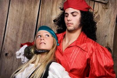 Traje de Halloween Piratas pareja