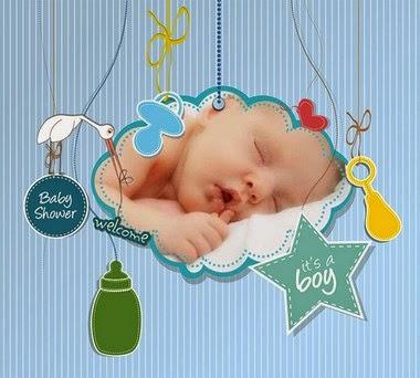 marco para varoncito bebe