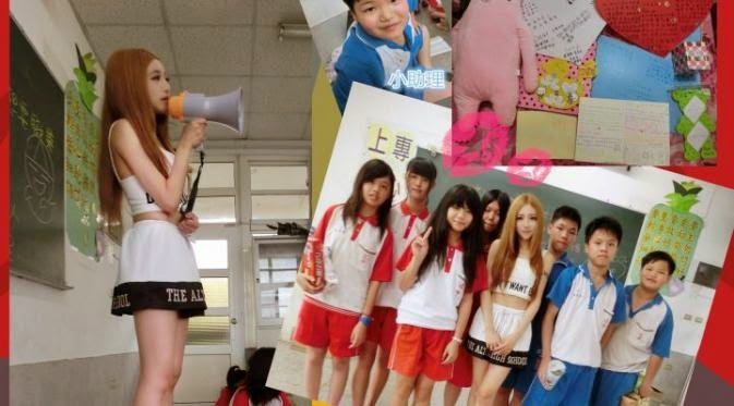 Viki Chen Guru Berparas Barbie