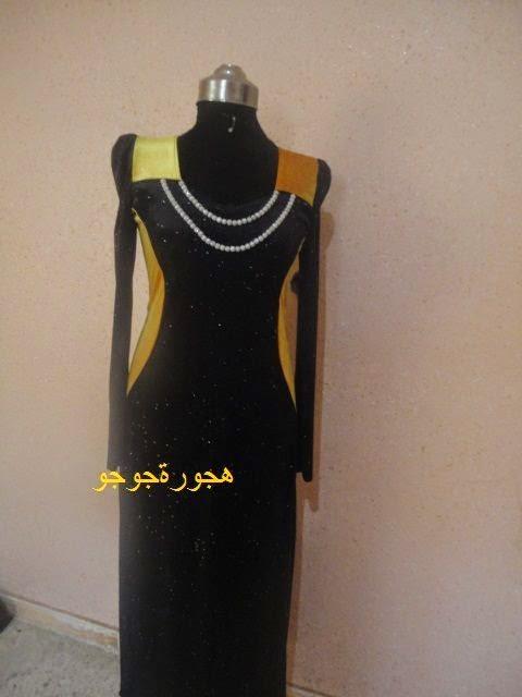 قنادر جزائرية قطيفة 2016  خياطة جزائرية