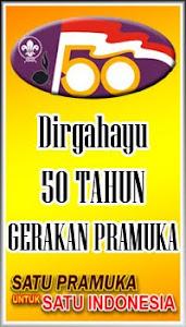 Dirgahayu 50 Tahun Gerakan Pramuka