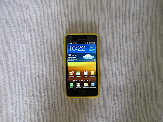 My new Samsung Galaxy SII