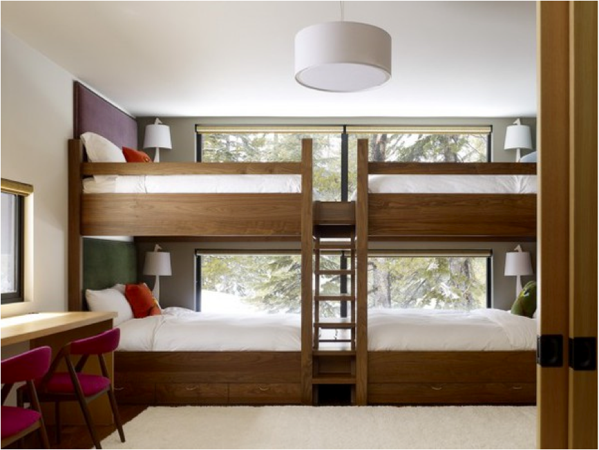 New Modern Ideas For The Traditional Bunk Bed