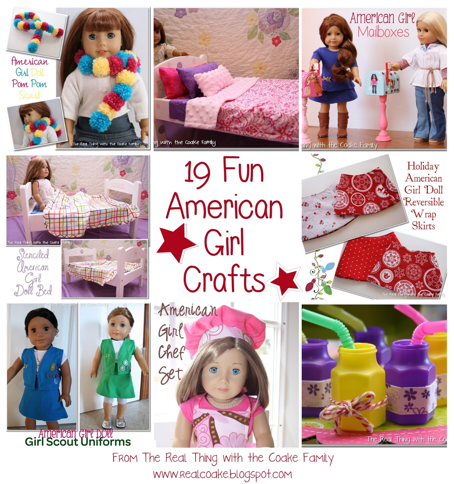 19 fun american girl crafts and fun ideas