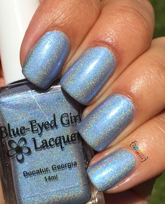 Blue Eyed Girl Lacquer Tea Is Soothing.  I Wish To Be Tense.