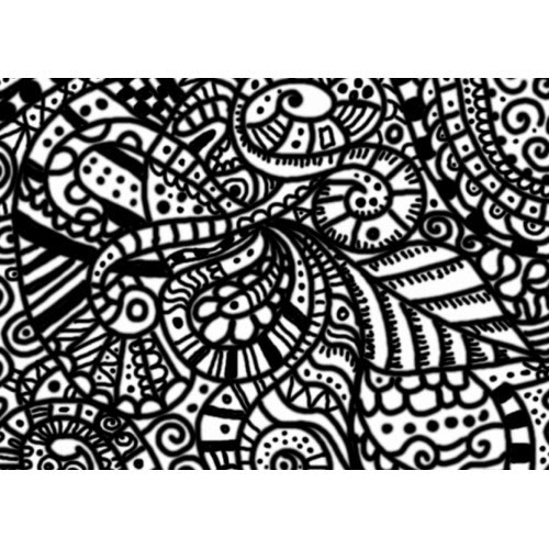 Abstract Coloring Pages For Kids Free