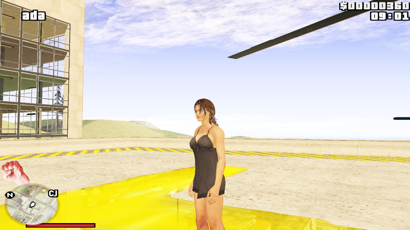 Helena Harper in a dress for GTA San Andreas