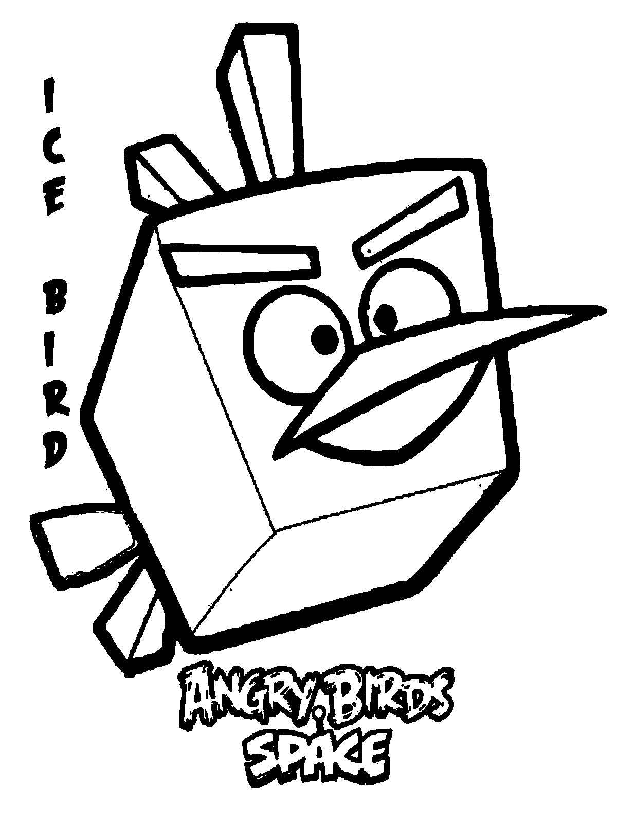 Angry Birds Coloring Pages For Realistic