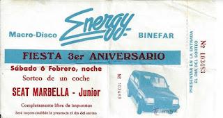 Discoteca Energy Binéfar