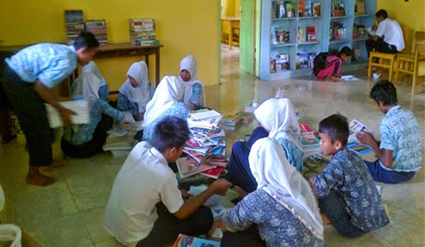 E-LEARNING SMPN SATU ATAP SUNGAI KARANG TAHUN PELAJARAN 2014-2015