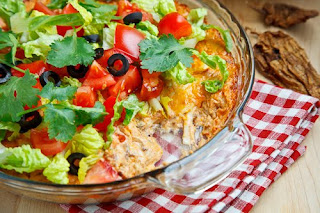 Taco Dip by Closet Cooking.