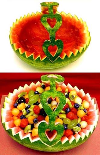 Кошница за плодове от диня