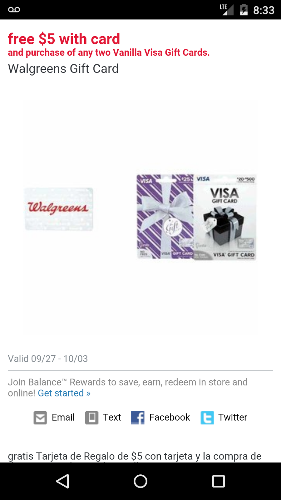 My 13 Cents: Get a $5 Walgreens gift card with purchase of 2 ...