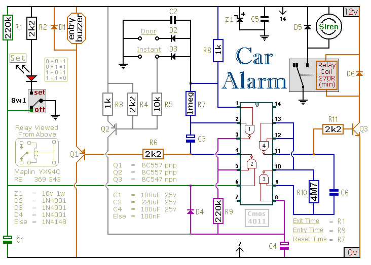 car alarm system wiring diagram car image wiring electronic alarm system wiring diagram electronic home wiring on car alarm system wiring diagram